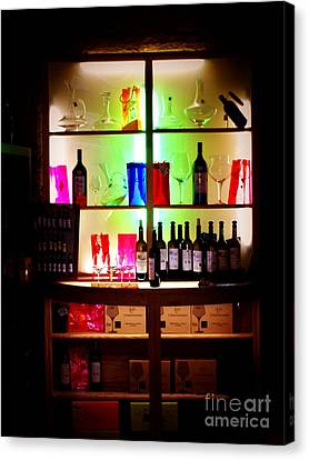 The Wine Seller Canvas Print by Newel Hunter
