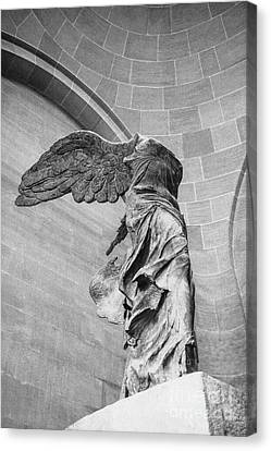 The Winged Victory Canvas Print by Patricia Hofmeester