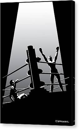 The Winner Canvas Print by Ed Hernandez