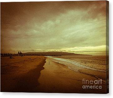 The Winter Pacific Canvas Print by Fei A
