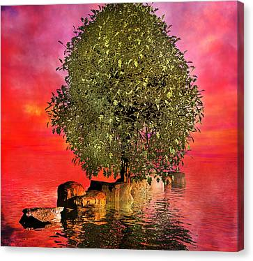 The Wishing Tree Two Of Two Canvas Print by Betsy Knapp