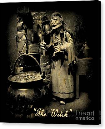 The Witch Canvas Print by John Malone