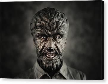 The Wolf Man - Lon Chaney Jr Canvas Print