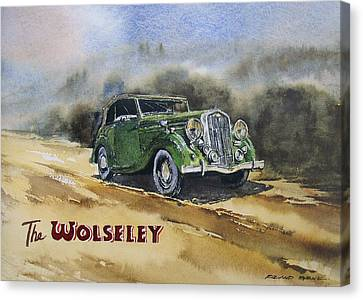 Canvas Print - The Wolseley by Roland Byrne