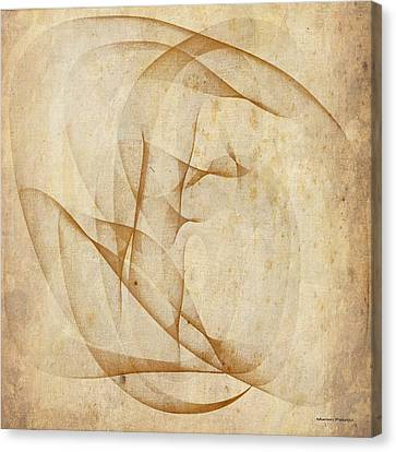 The Womb Canvas Print by Marian Palucci-Lonzetta