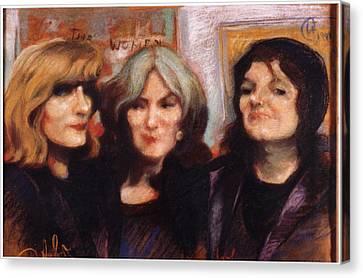 The Women Canvas Print