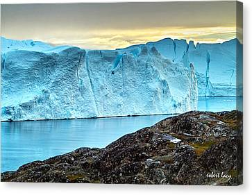 The Wonder Of Greenland Canvas Print by Robert Lacy