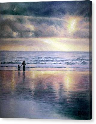 The Wonder Of Light Canvas Print