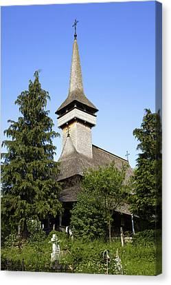 The Wooden Church (biserica De Lemn Canvas Print by Martin Zwick