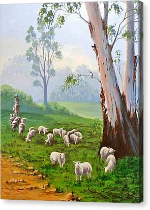 The Wool Road Canvas Print by Anne Gardner