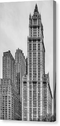 The Woolworth Downtown Canvas Print by JC Findley