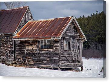 The Work Shed Canvas Print by Alana Ranney