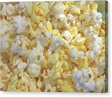 Canvas Print featuring the photograph The World Of Popcorn by Hiroko Sakai