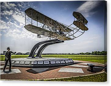 The Wright Flyer Canvas Print by Chris Smith