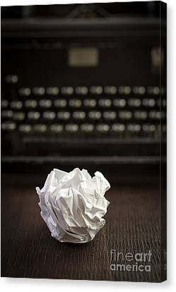 Frustration Canvas Print - The Writer by Edward Fielding