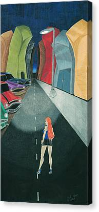 The Wrong Street Canvas Print by Heather Edgar