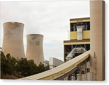 The Yan Lang Coal Fired Power Station Canvas Print