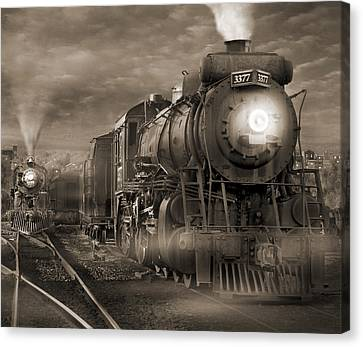 The Yard 2 Canvas Print by Mike McGlothlen