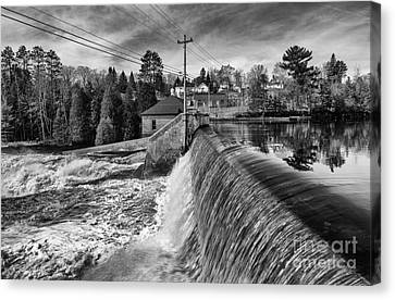 The Year Of The Flood Canvas Print by Dan Hefle