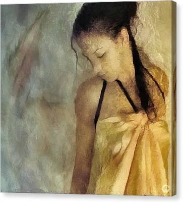 The Yellow Dress Canvas Print by Gun Legler