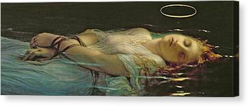 The Young Martyr Canvas Print by Hippolyte Delaroche