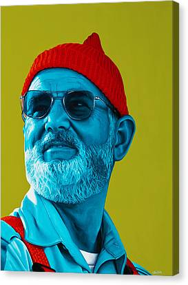 The Zissou- Background Edit Canvas Print by Ellen Patton