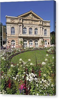 Theater Building Baden-baden Germany Canvas Print by Matthias Hauser