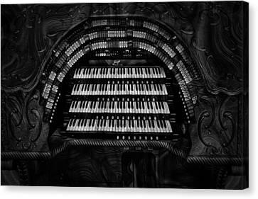 Theater Organ Canvas Print by Jack Zulli