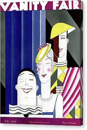 Theater Performers Canvas Print