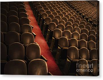 Theater Seats Canvas Print by Margie Hurwich
