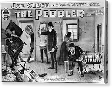 Theater The Peddler, 1902 Canvas Print