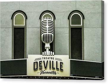 Canvas Print - Theatre Deville by Bill Gallagher
