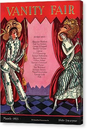 Theatre Performers Canvas Print by Joseph B. Platt