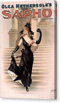 Theatre Sapho, 1900 Canvas Print by Granger