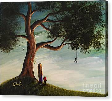 Their Favourite Place By Shawna Erback Canvas Print by Shawna Erback