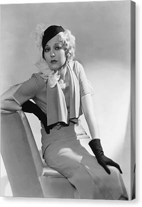Thelma Todd, 1932 Canvas Print by Everett