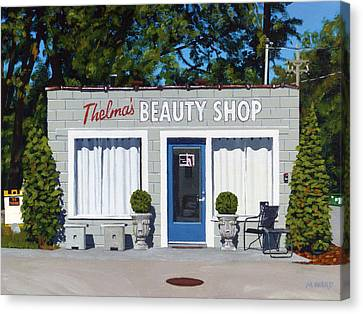 Thelma's Canvas Print by Michael Ward