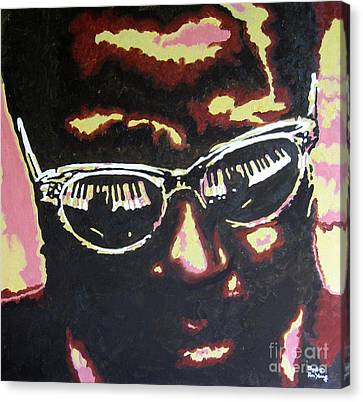 Thelonius Monk Canvas Print by Ronald Young