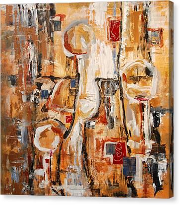 Them Canvas Print by Alexandra Jordankova