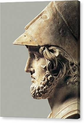 Themistocles. 5th-4th C. Bc. Greek Art Canvas Print