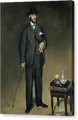 Theodore Duret 1838-1927 Oil On Canvas Canvas Print