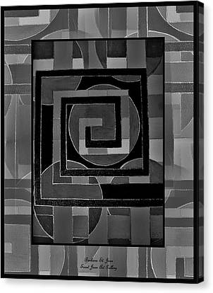 Theory Of Relativity Canvas Print by Barbara St Jean