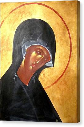 Theotokos Canvas Print by Joseph Malham