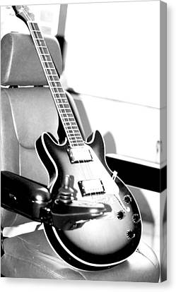 Therapeutic Guitar 3 Canvas Print by Sandra Pena de Ortiz