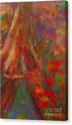 There I Will Give You My Love Canvas Print by Deborah Montana