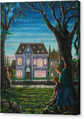 There Is A House In New Orleans Canvas Print by Matt Konar