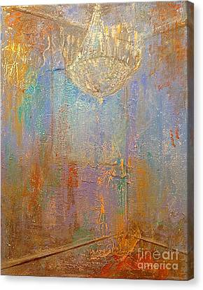 There Is Light In The Room Canvas Print by Delona Seserman