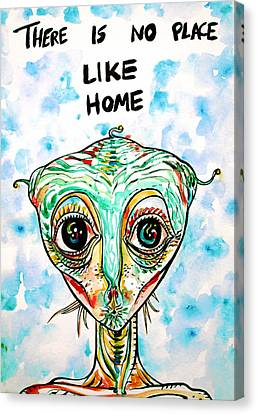 There Is No Place Like Home Canvas Print by Fabrizio Cassetta