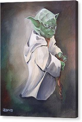 There Is No Try  Canvas Print by Chris  Leon