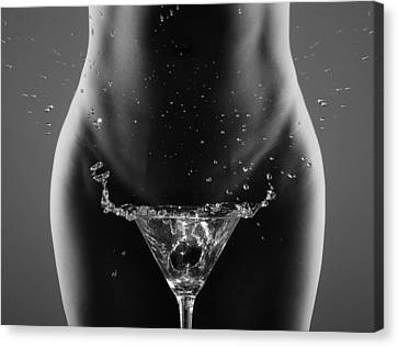 Therea?s Your Drink, Sir... Canvas Print by Roland Helerand